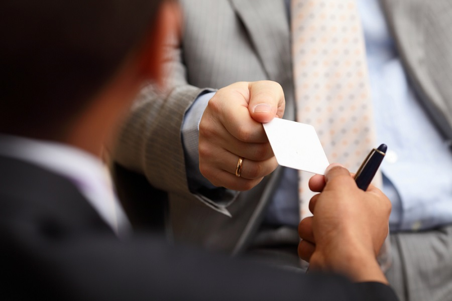 How Important Is It For You To Exchange Business Cards At ...