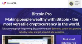 Bitcoin Pro Live Overview