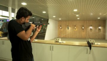 Dissimilar features of board and arena shooting